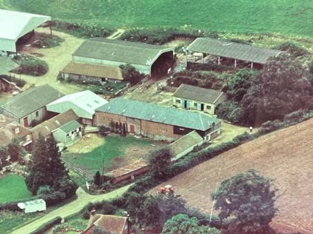 durleighmarsh farm in the 1970s